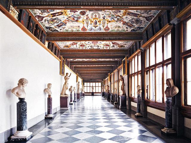 Galerie des offices visites priv es florence - Galerie des offices a florence ...